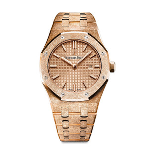 Frosted Royal Oak Ladies Selfwinding 67653OR.GG.1263OR.02