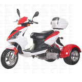 Ice Bear PST150-9 150cc Trike Scooter W/ Free shipping.