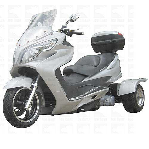 Ice Bear Cyclone PST150C 150cc Trike Scooter W/ Free shipping.