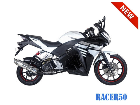 Tao Motor Racer50 Scooter W/ Free shipping.