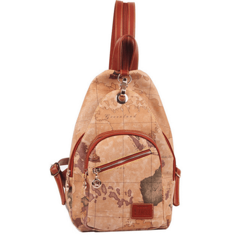 LUXURY WORLD MAP BACKPACK  - FREE SHIPPING WORLDWIDE