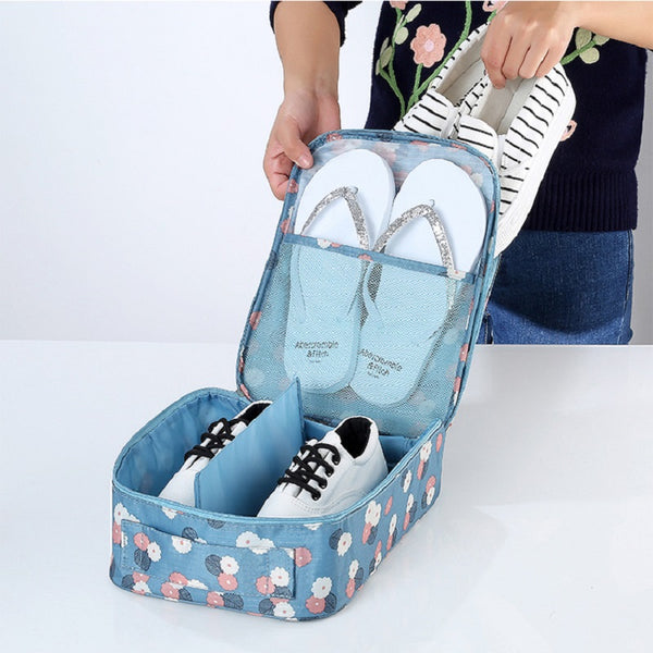 The Amazing Travel Shoe Storage