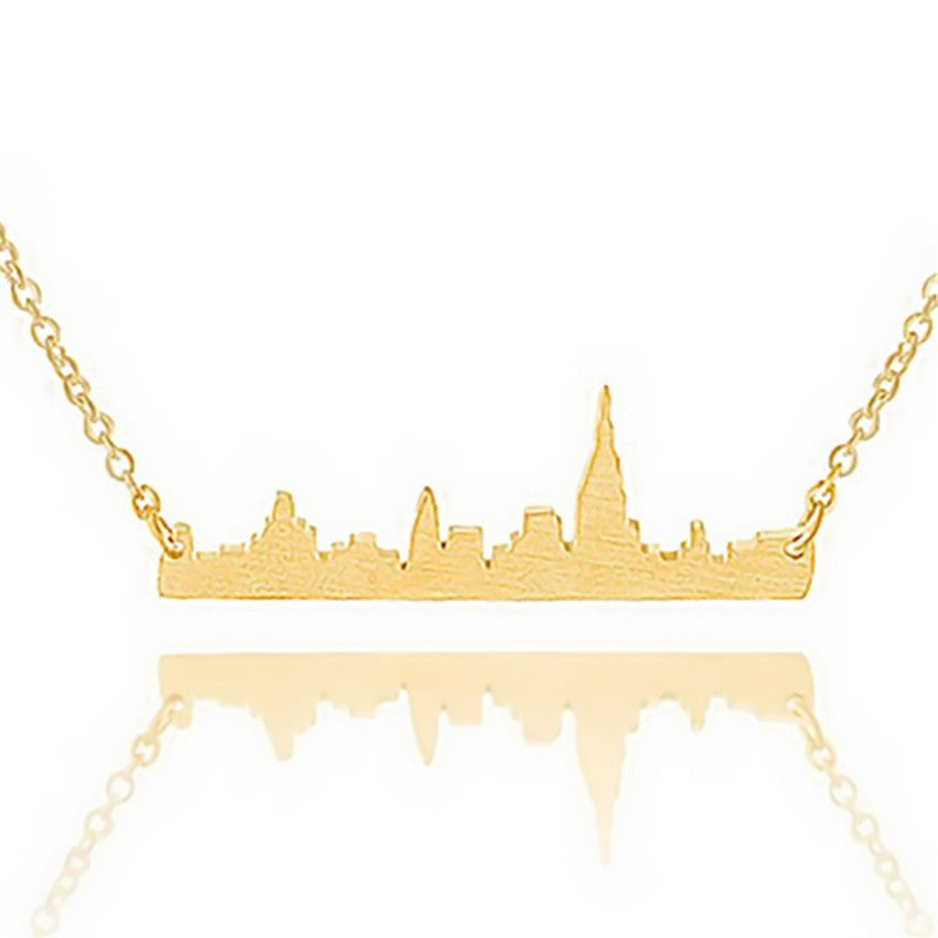 Premium City Skyline Necklace