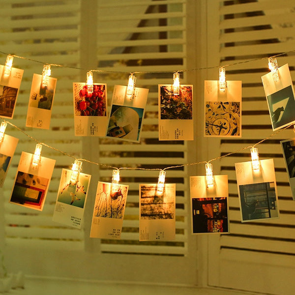 Hanging Memories Photo Wall Clips