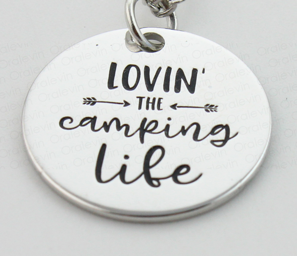 Lovin' the Camping Life Necklace
