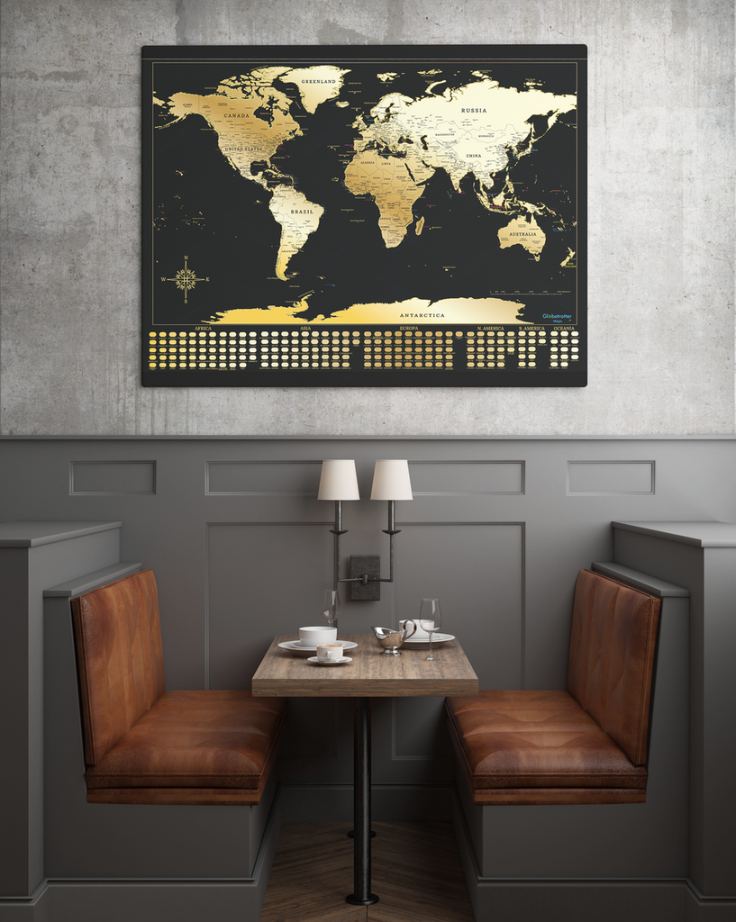 Globetrotter maps scratchable world map wanderland designs globetrotter maps scratchable world map gumiabroncs Choice Image