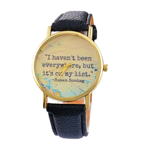 It's On My List Wrist Watch - FREE SHIPPING