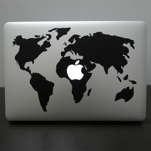 Premium World Map Decal