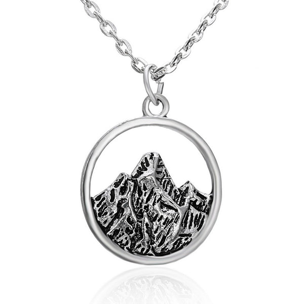 Silver Mountain Top Necklace - SPECIAL OFFER