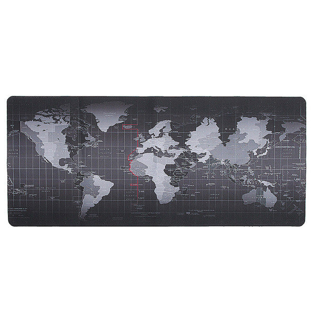 Premium Large World Map Mouse Pad – Wanderland Designs
