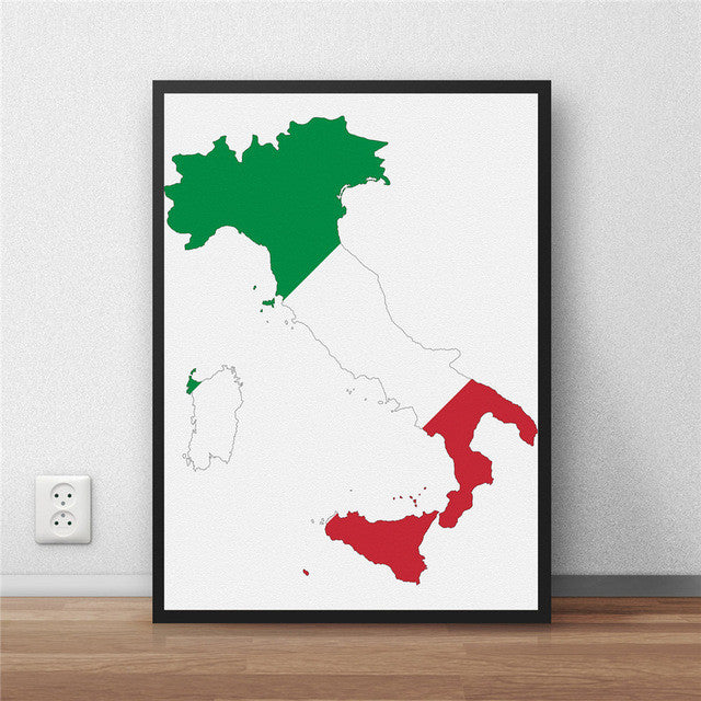 World map made of country flags wanderland designs world map made of country flags gumiabroncs Gallery