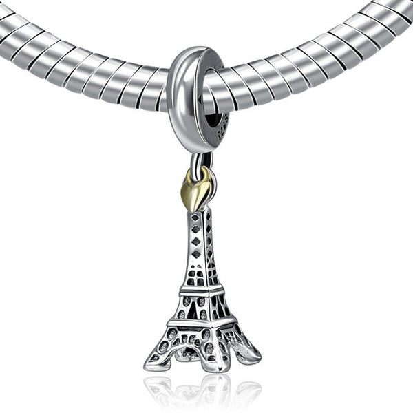 Authentic 925 Sterling Silver Travel Charms - FREE SHIPPING WORLDWIDE