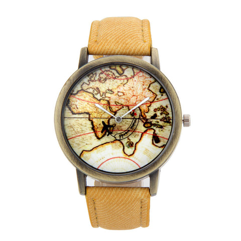 Atlantic World Traveler Watch - FREE WORLDWIDE SHIPPING