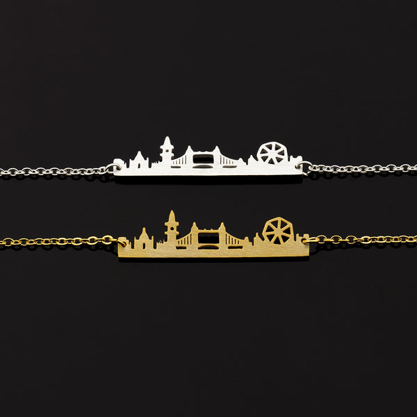 Premium Adjustable UK Skyline Bracelet