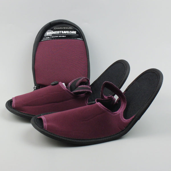 The Amazing Foldable Travel Slippers