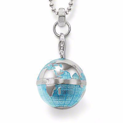 Silver Globe Necklace