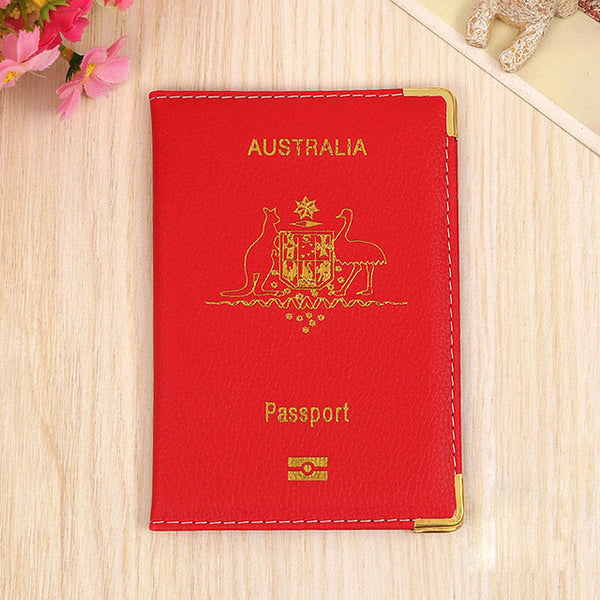 Premium Australia Passport Cover