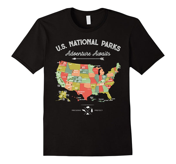 US National Parks Shirt