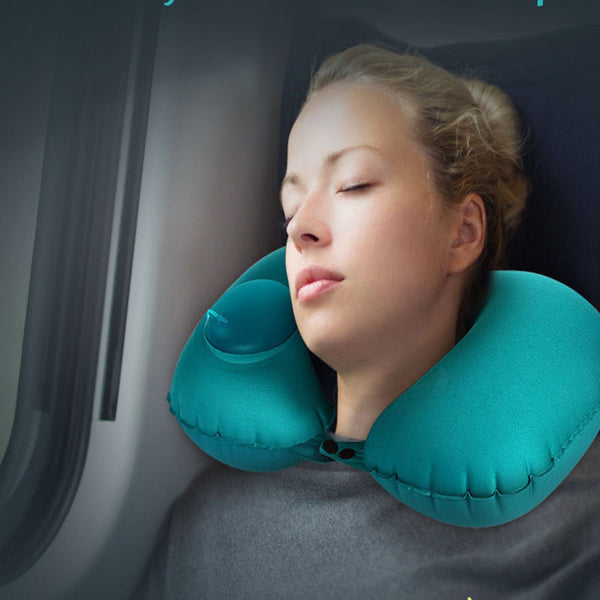Easy Inflate Travel Pillow