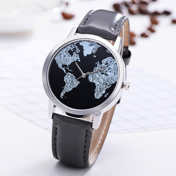 Premium World Map Artsy Watch