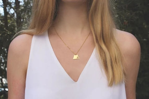 Happy Camping Necklace