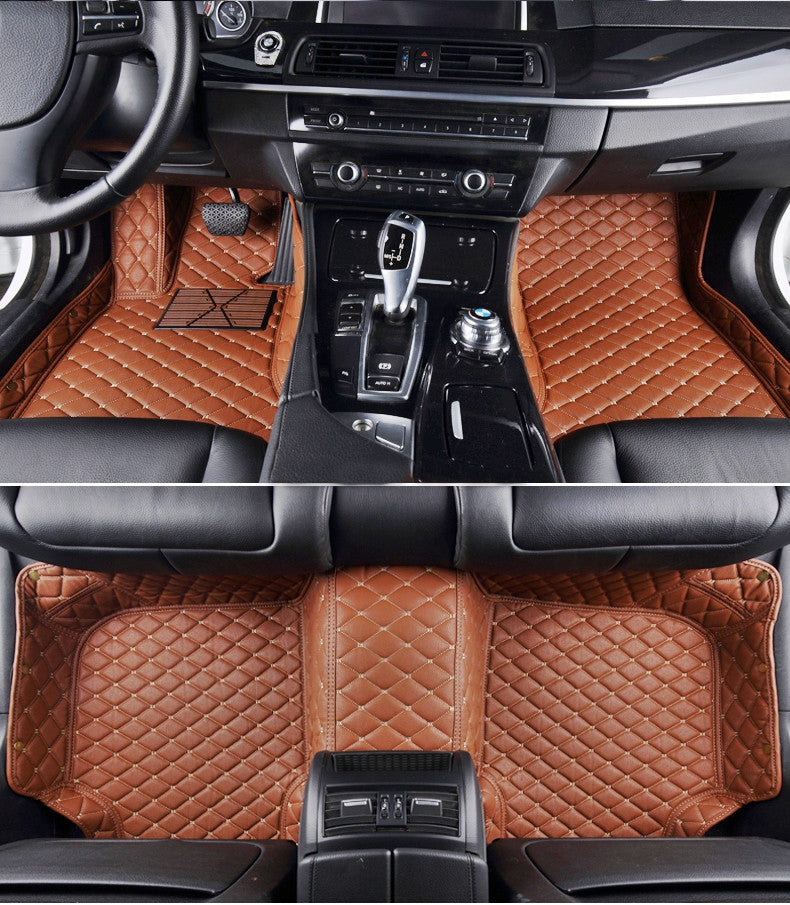 Diamond Floor Mats (Brown)   Aston Martin