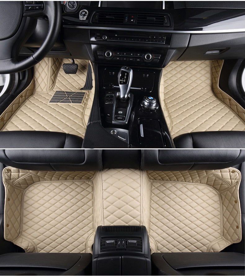 Diamond Floor Mats (Beige)   Aston Martin