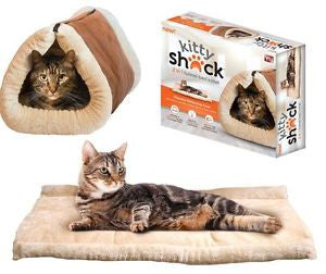 Kitty Shack: 2-in-1 Bed and Cat Mat!