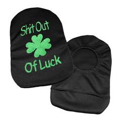 Embroidered Ostomy Pouch Cover | Shit Out Of Luck