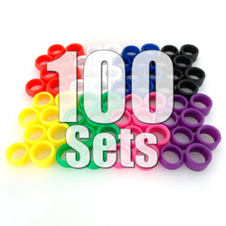 Stance Alternative Tires 100 Sets (400 Pieces) Value Pack (30% Off & FREE SHIPPING World-Wide)