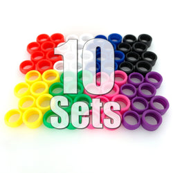 Stance Alternative Tires 10 Sets (40 Pieces) Value Pack (10% Off & FREE Domestic SHIPPING)
