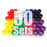 Stance Alternative Tires 50 Sets (200 Pieces) Value Pack ($25 Savings & FREE SHIPPING World-Wide)