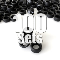Rubber Tires 100 Sets (400 Pieces) Value Pack (40% Off & FREE SHIPPING World-Wide)