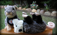 Plush Possum Toy - Awesome Possum - Polly the Possum - Mister's Garden