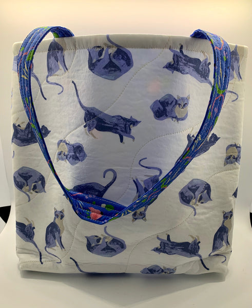 Blue Cats Bag
