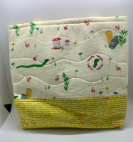 Sewing Worms Bag