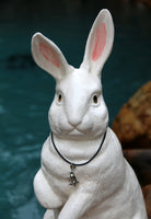 Standing Mister the Bunny Pendant Necklace - Mister's Garden