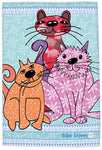 Cat Lover Tea Towel - English MollyMac UK - Holiday Hostess Gift - Mister's Garden