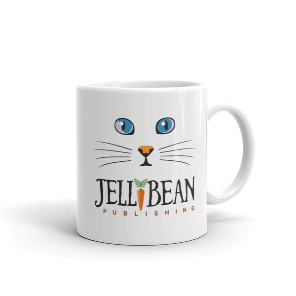 Cat Coffee Mug - JellyBean Publishing - Cat Lover Cup - Mister's Garden