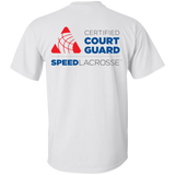 Court Guard T front & back logos - SPEED Lacrosse™ ProShop