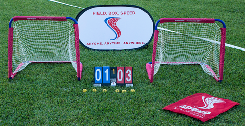 Field. Box. SPEED.™ Combo Pop Up (Sub Box &/or Back Stop) - SPEED Lacrosse™ ProShop