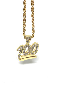 100 Gold Necklace