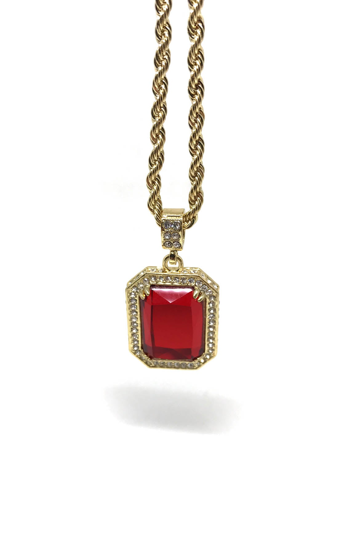 necklaces womens zoom spade to images pendant be kate july ruby shop born red necklace
