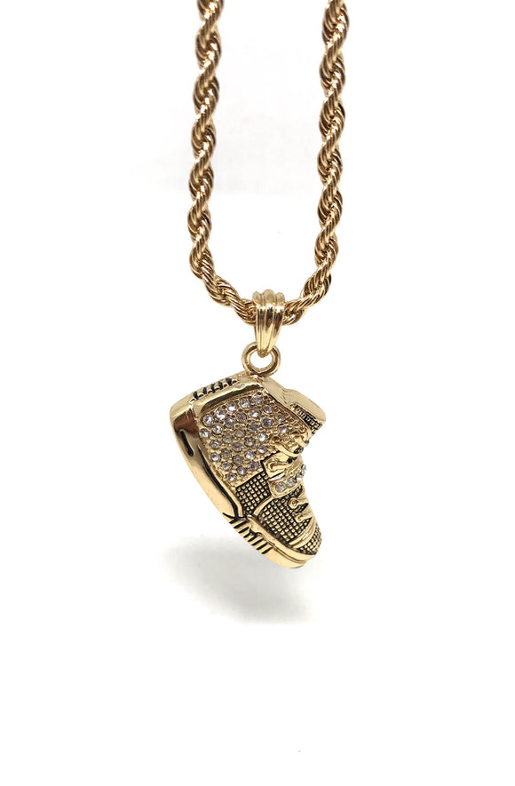 Yeezy Gold Necklace