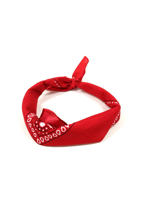 Red Traditional Bandana