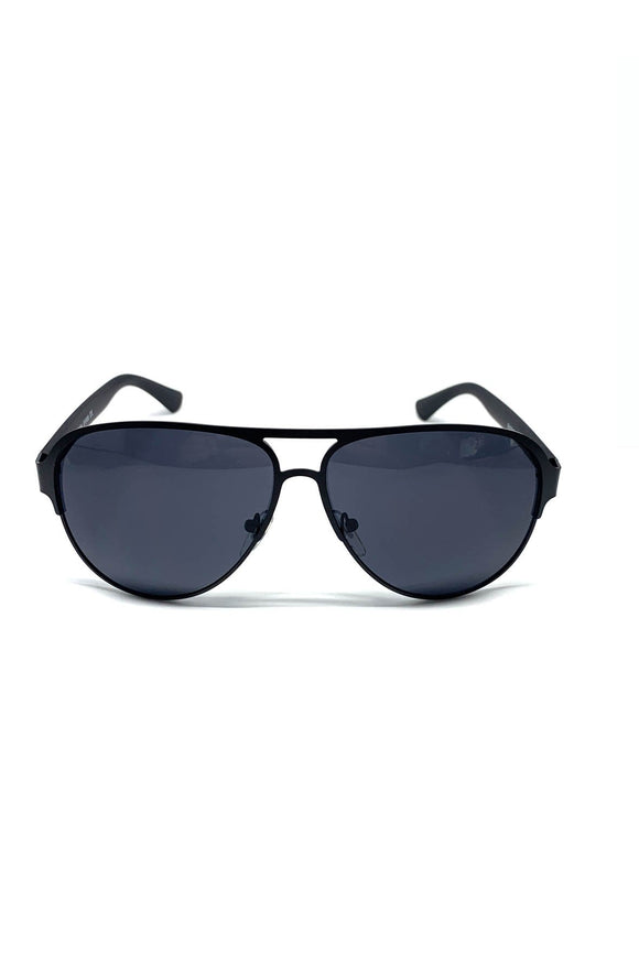 The Carr Sunglasses in Black