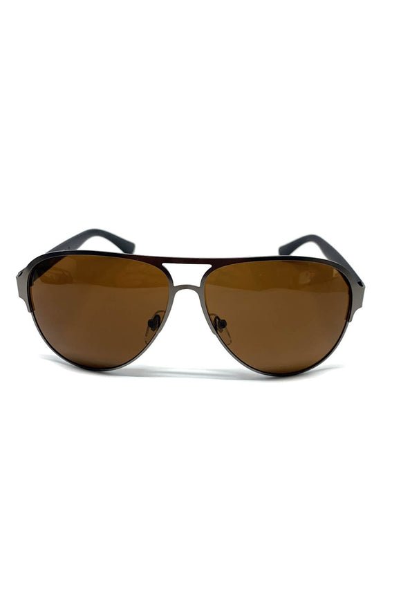 The Carr Sunglasses in Bronze