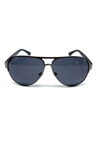 The Carr Sunglasses in Gunmetal