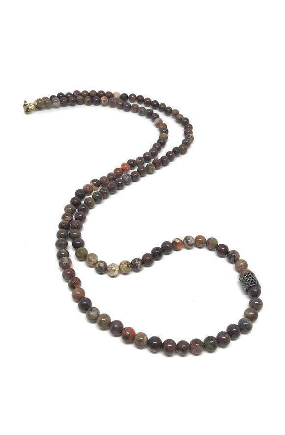 Flower Agate Chakra Stone necklace/bracelet