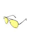 The Gunner Sunglasses in Yellow/Black
